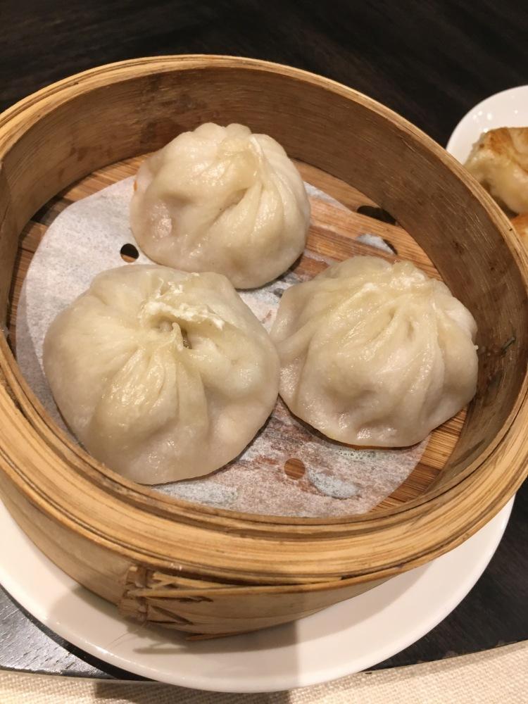 Xiao long bao at unlimited dim sum at jasmine new world hotel makati
