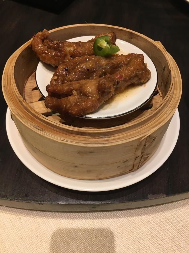 Chicken feet at unlimited dim sum at jasmine new world hotel makati