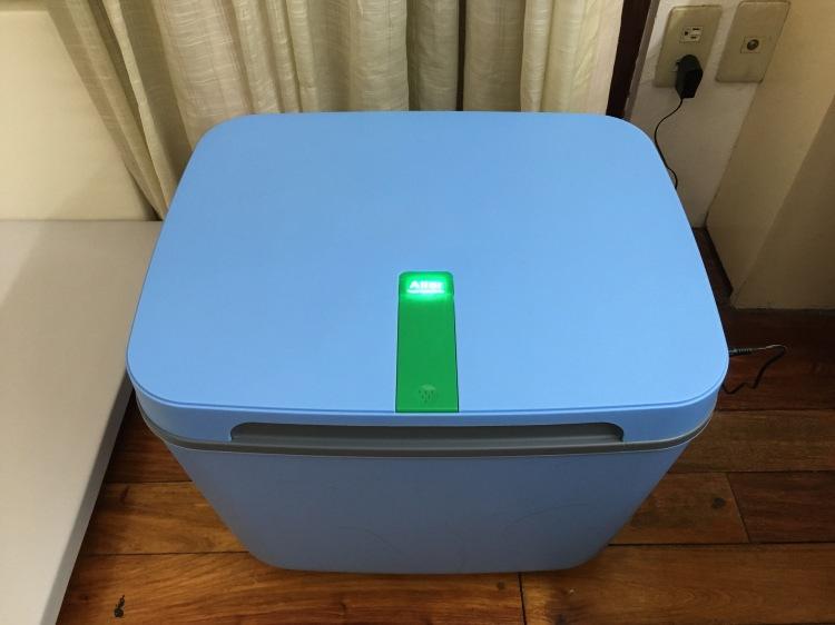 Aller Plasma Toy Sterilizer in blue