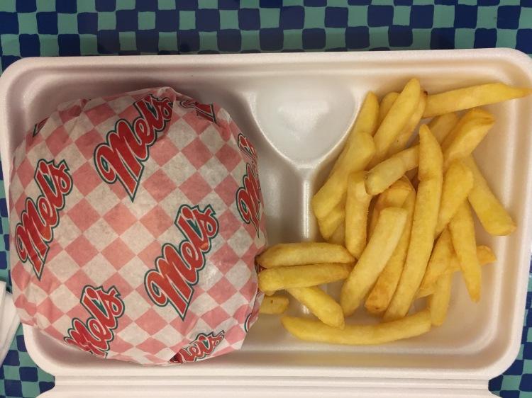 Burger in Universal Studios Japan